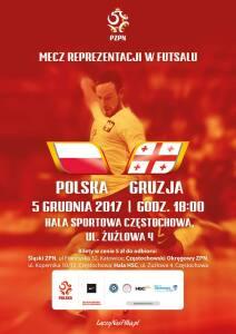 Polska-Gruzja w futsalu